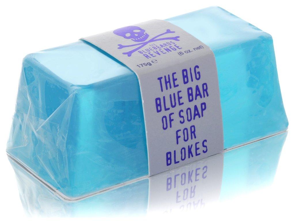Koupelové mýdlo Big Blue Bar pro pravé chlapy The Bluebeards Revenge