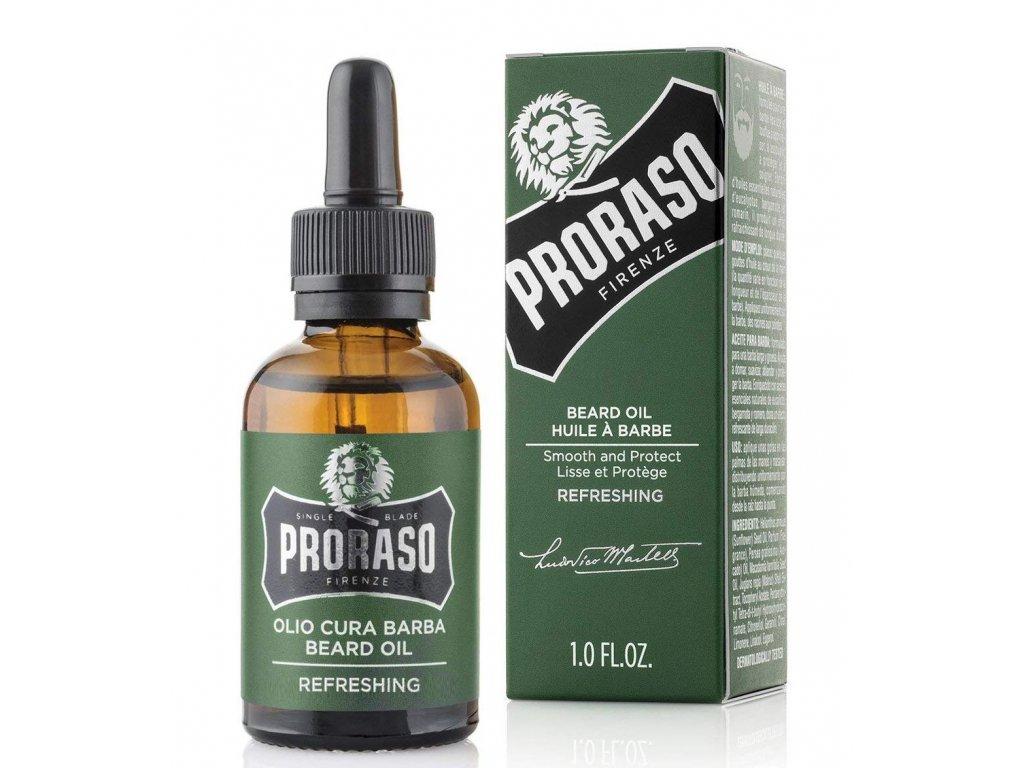 olej na vousy proraso eukalyptus 30 ml