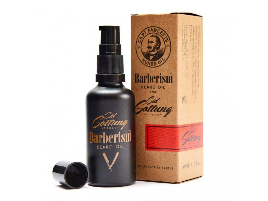 olej na vousy captain fawcett barberism 50 ml