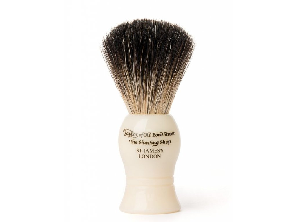 Štětka na holení Taylor of Old Bond Street Ivory Pure Badger