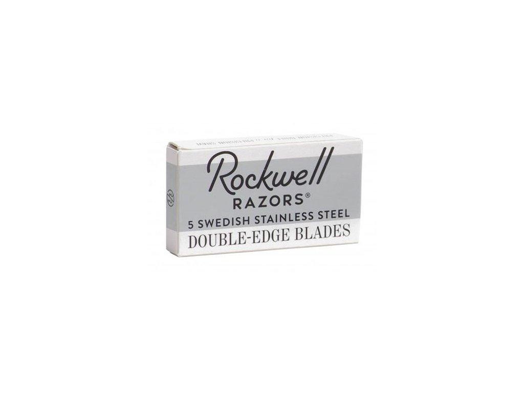 ziletky na holeni rockwell razor double edge blades