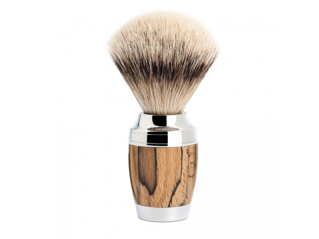 stetka na holeni muhle stylo spalted beech silvertip badger