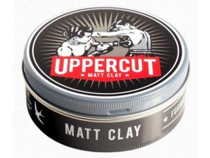 Matný jíl na vlasy Matt Clay Uppercut 60 g