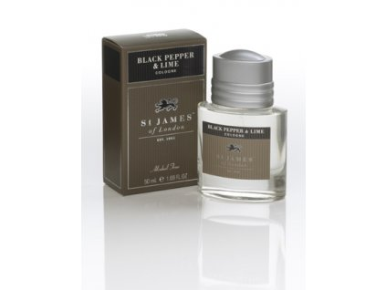 Kolínská voda Black Pepper & Lime St James of London 50 ml