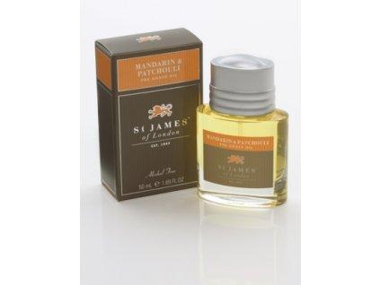 Olej před holením Mandarin & Patchouli St James of London 50 ml