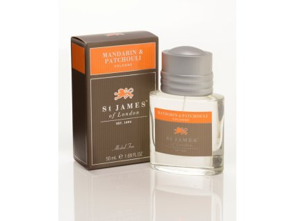 Kolínská voda Mandarin & Patchouli St James of London 50 ml