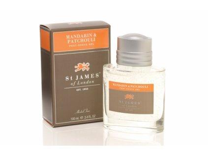 Gel po holení Mandarin & Patchouli St James of London 100 ml