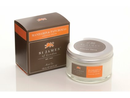 Krém na holení Mandarin & Patchouli St James of London 150 ml