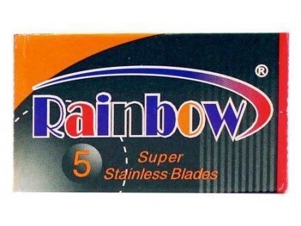 Žiletky na holení Rainbow Super Stainless (5 ks)