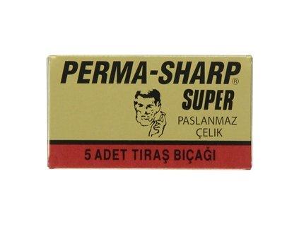 Žiletky na holení Perma Sharp Super (5 ks)