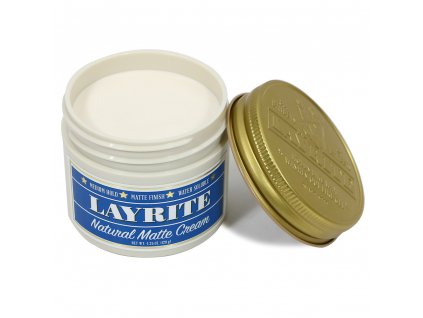 Matný krém na vlasy Natural Matte Layrite 113g