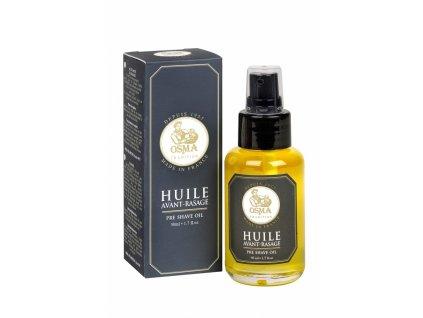 Přírodní olej před holením Osma 50 ml