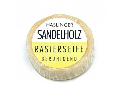 Mýdlo na holení Haslinger Sandalwood 60 g