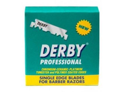 Shavettové žiletky na holení Derby Professional (100 ks)