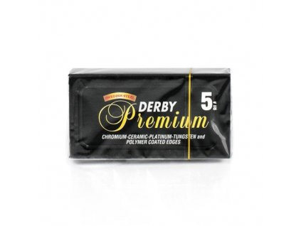 Žiletky na holení Derby Premium Double Edge Azmüsebat (5 ks)