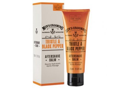 Balzám po holení Scottish Fine Soaps Thistle and Black Pepper 75 ml