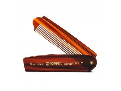 Skládací hřeben na vlasy Kent