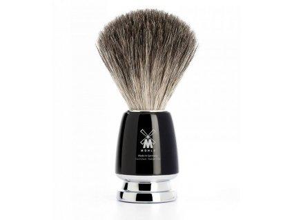 Elegantní štětka na holení Mühle Rytmo Black Pure Badger