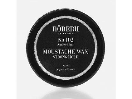 Vosk na knír Noberu Amber-Lime Strong Hold 30 ml