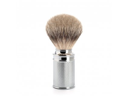 Štětka na holení Mühle Traditional Metal Silvertip Badger