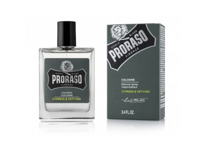Kolínská voda Cypress and Vetyver Proraso 100 ml