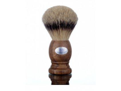 Štětka na holení Hans Baier Walnut Silvertip