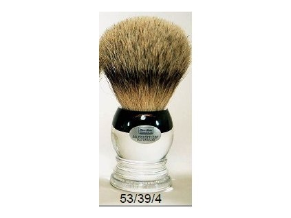 Štětka na holení Hans Baier Acryl Silvertip
