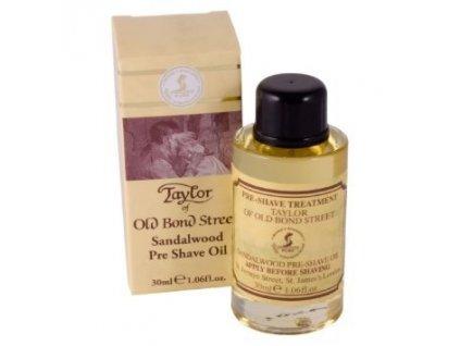 Olej před holením Sandalwood Taylor of Old Bond Street 30 ml