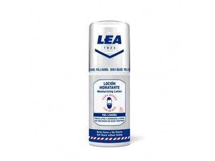 Hydratační mléko na vousy a pokožku Lea 75 ml
