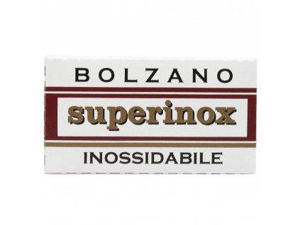 ziletky na holeni bolzano superinox 5 ks