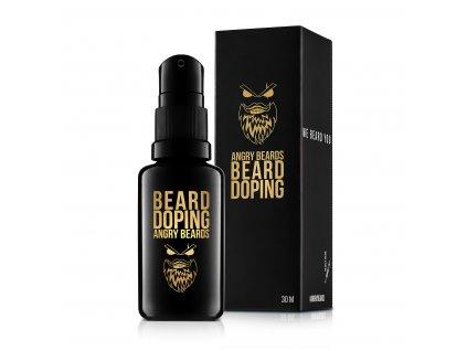 pripravek na rust vousu angry beards beard doping