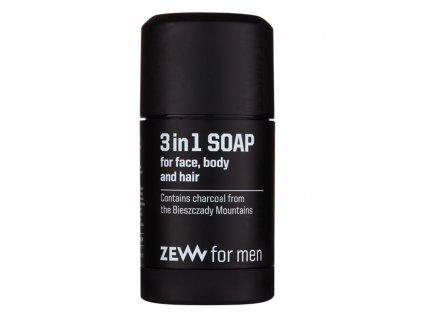 3v1 mydlo na oblicej telo a vlasy 85 ml