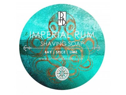 mydlo na holeni phoenix and beau imperial rum 115 g