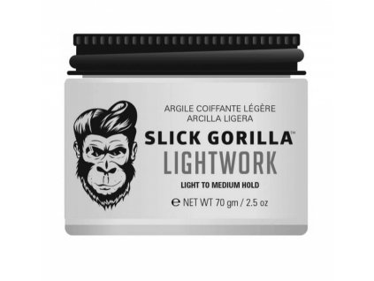 hlina na vlasy slick gorilla lightwork 70g