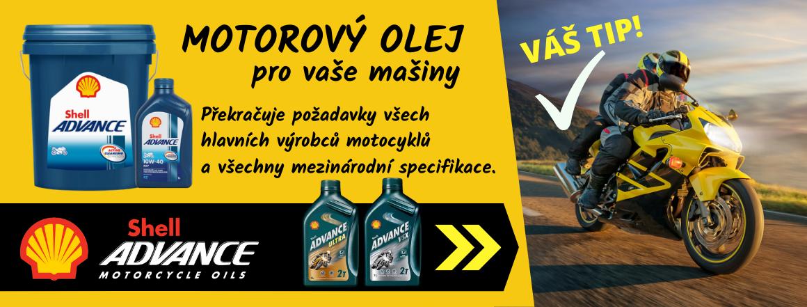 Motorový olej Shell Advance