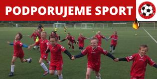 Rádi podpoříme sportovního ducha