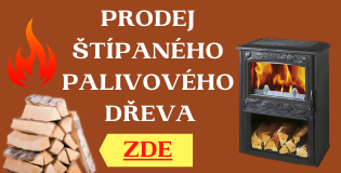 Prodej palivového štípaného dřeva