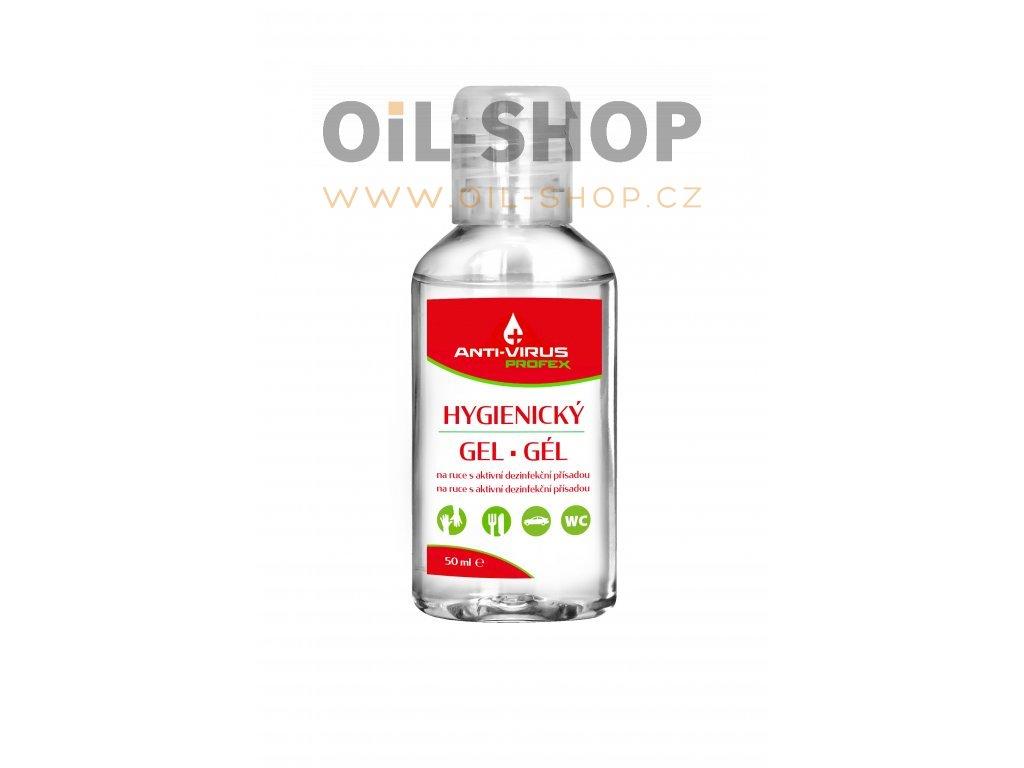 profex anti virus hygienicky gel na ruce 50 ml oil shop