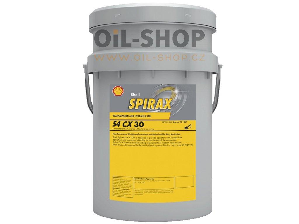 shell spirax s4 cx sae 30 pail