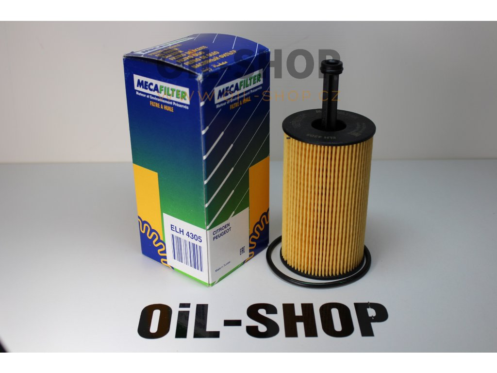 Meca Filtr Olejový ELH4305