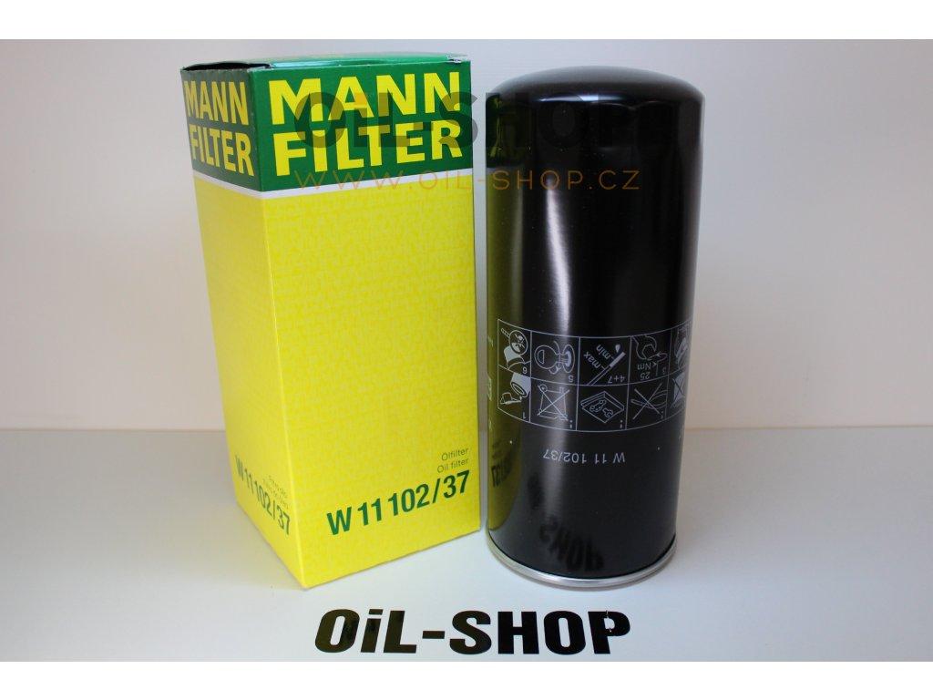 Mann Filtr Olejový W11102/37