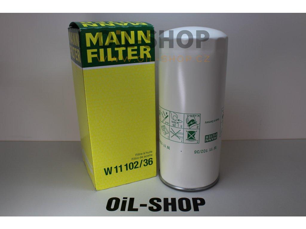 Mann Filtr Olejový W11102/36
