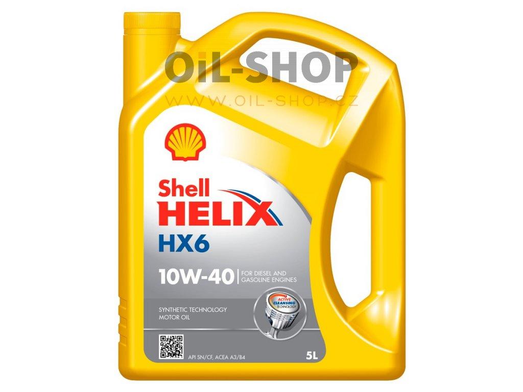 maslo dvigatelno helix hx6 10w 40 5l