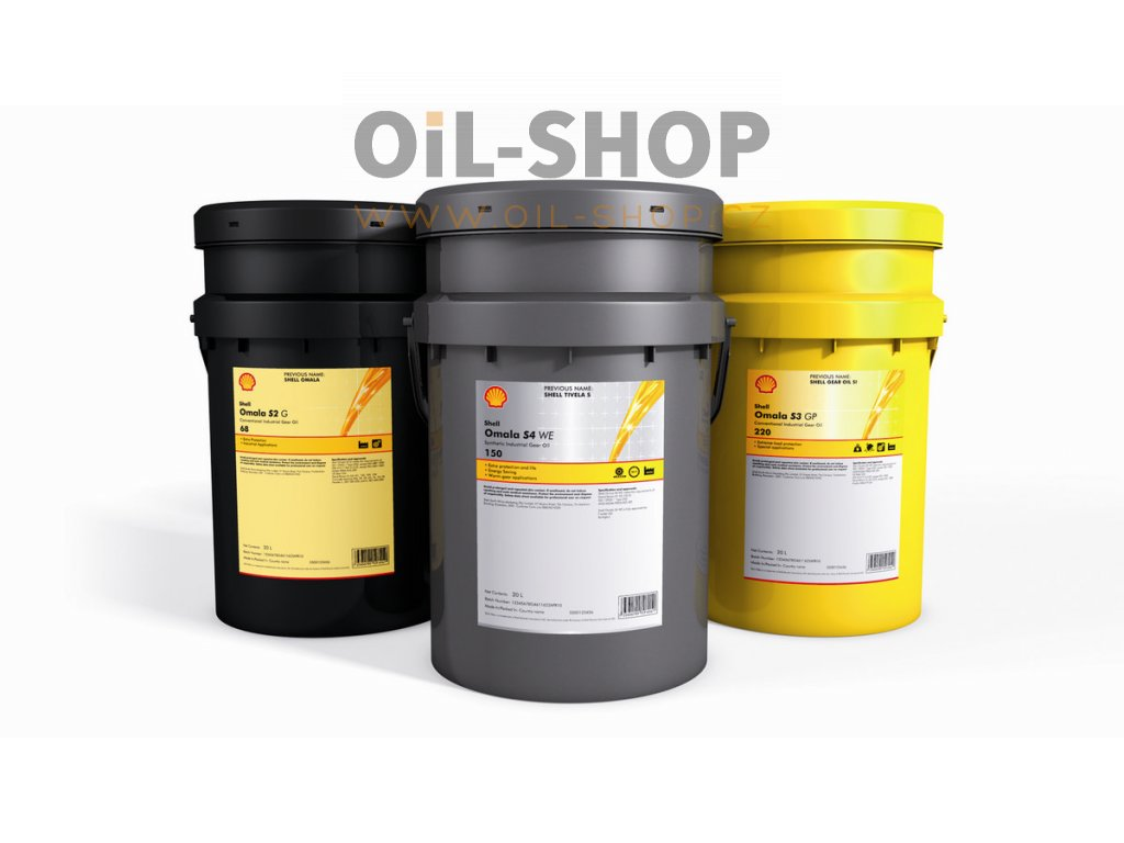 Shell Omala S4 WE 460  20L