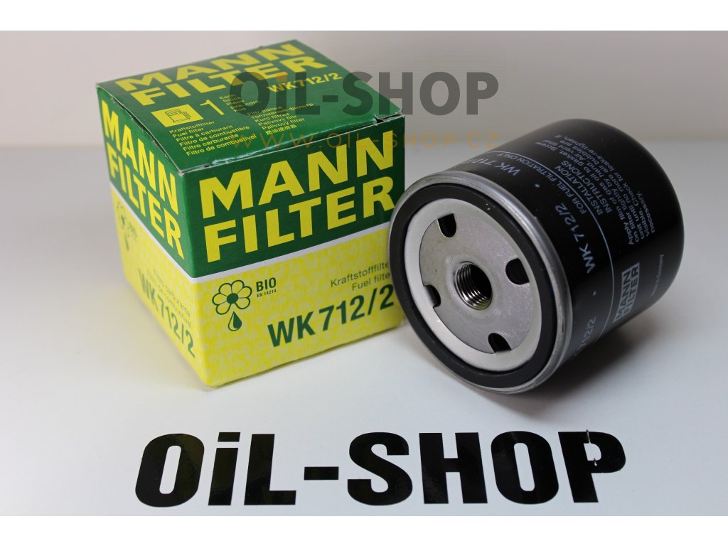 Mann Filtr Palivový WK712/2