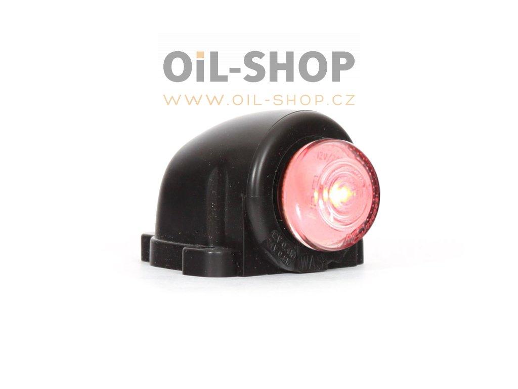 WAS obrysový LED světlomet červené 12/24V 133