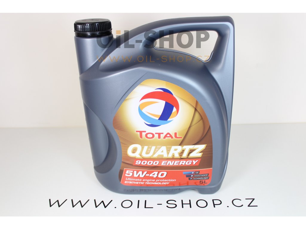 Total Quartz 9000 5W-40 Energy  5L
