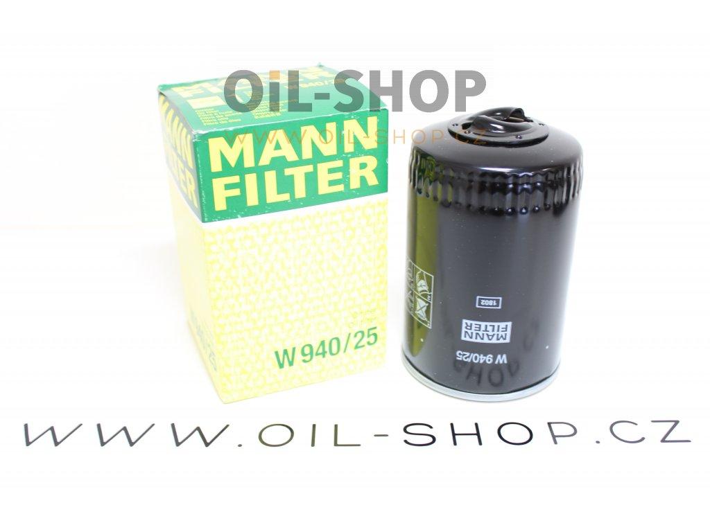 Mann Filtr Olejový W940/25