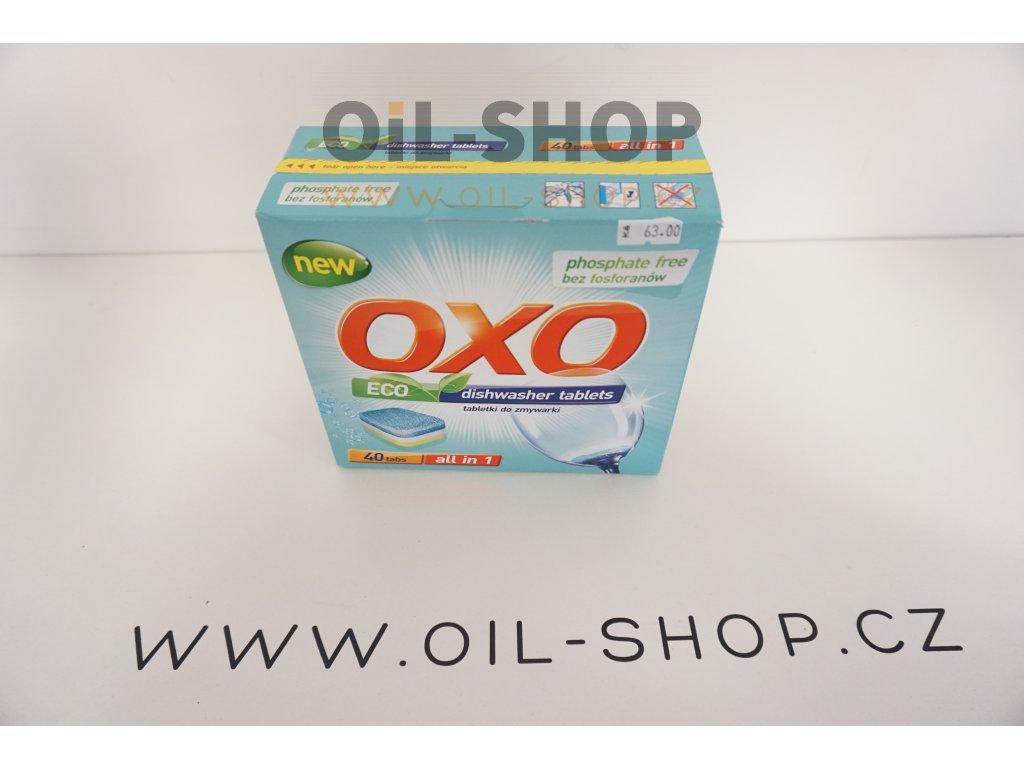 OXO tablety do myček 40ks