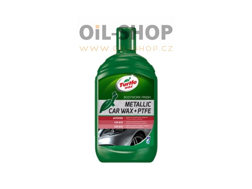 Turtle Wax Vosk Na Metalické Laky 500ml